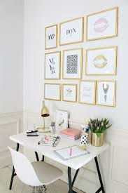decor 44 stylish office wall art ideas gold wall decor workspace