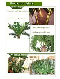 wholesale dried artificial leaves green palm tree names of tree