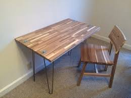 fabriquer un bureau enfant bureau à découper skogsta bidouilles ikea