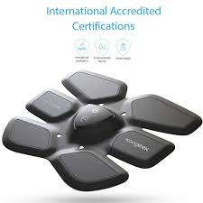amazon com koogeek smart training gear abs fit training abdomen