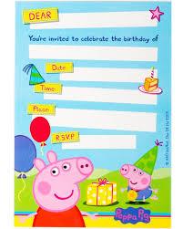 free printable peppa pig birthday invitations futureclim