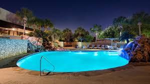 Pool At Night Hyatt Regency North Houston Photo Gallery Videos Virtual Tours