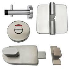 Toilet Partition Brackets 6 Partition Hardware Sets Sijag Shop Bathroom Partitions