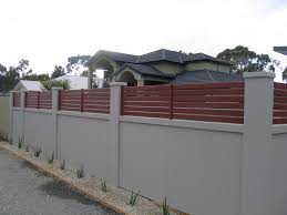 Modern Fence by Estate Residential Solid Wall Fencing Inspirations With Modern
