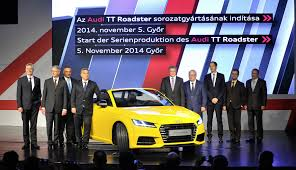 audi dealership design 2015 audi tt roadster production starts in hungary autoevolution