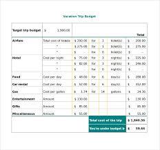 spend plan templates