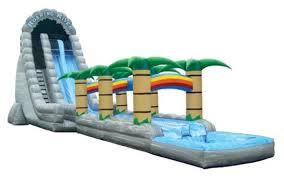 Backyard Water Slide Inflatable by Water Slide Rentals In The Atlanta Ga Area