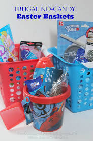 ideas for easter baskets frugal no candy easter basket ideas humorous homemaking