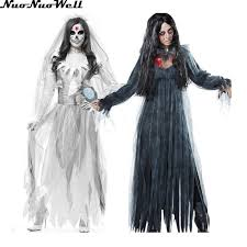 Womens Ghost Halloween Costumes Cheap Halloween Zombie Costumes Women Aliexpress
