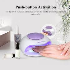 amazon com touchbeauty portable nail dryer with air u0026 led light