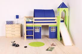 bed cabin beds with slides