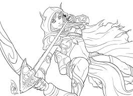 warcraft 15 video games u2013 printable coloring pages