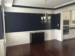 blue dining room home living room ideas