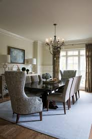 photos hgtv glamorous dining room with sleek wooden table and