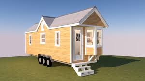 the westport is a 28 foot long tiny house on wheels with a 10 12