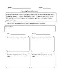 theme worksheet circling part 1 intermediate englishlinx com