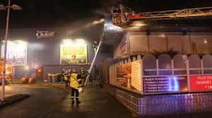 bureau maubeuge un feu se déclare à la brasserie au bureau le cinéma évacué la