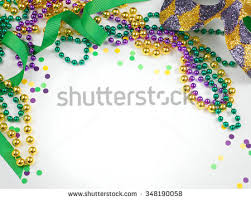 mardi gras items carnival mardi gras items including harlequin stock photo