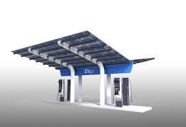 1st non tesla high power ev charging station in usa thanks evgo