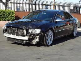 damaged audi for sale buy used 2007 audi s8 sedan damaged salvage runs loaded v10