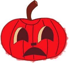 clipart halloween faces for pumpkins red