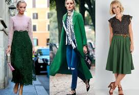 colors that go with forest green clothes ideas fashion