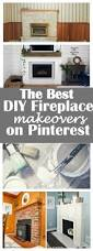 the best diy fireplace makeovers on pinterest owl and the deer