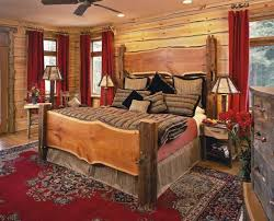 King Size Platform Bed With Headboard Western Style Bedroom Furniture Platform Bed With Shelving
