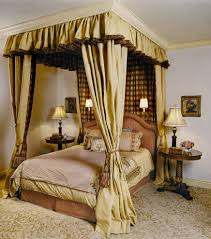 silver gold canopy bed med art home design posters