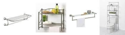 Brushed Nickel Bathroom Shelves Brushed Nickel Bathroom Shelves With Towel Bar The Toilet