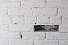 how to take white paint off red brick hunker