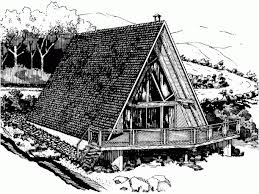 A Frame House Plans With Basement Build Me Two Story A Frame Cabin Floor Plans Would Need A