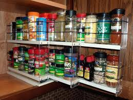 spice rack cabinet insert top 78 delightful organizer spice rack pull down plans sliding spice