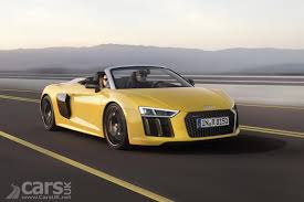 audi supercar convertible audi r8 spyder v10 plus convertible roars in with 602bhp of u0027plus