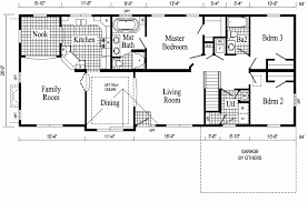 Open Floor Plan Ranch Homes Ranch Modular Home Floor Plans