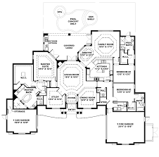 french floor plans french house plans unusual idea 6 french country house plan on one