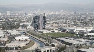 site cleared for 17 story tower at la cienega jefferson station