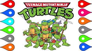 71 teenage mutant ninja turtles coloring pages printable