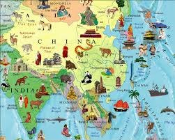 Maps Of The World Com by Illustrated Map Of The World For Kids Children U0027s World Map