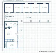 Horse Barn Designs Plans Doublecash Me Free Floor Plans For Barns