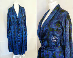 robe de chambre anglais pyjamas peignoirs et robes de chambre pour hommes vintage etsy fr