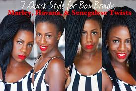 how do marley twists last in your hair 7 quick styles for marley twists havana twists box braids