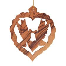 wooden christmas ornaments olive wood christmas ornaments for sale bethlehem gifts