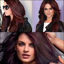 brown cherry hair color stylenoted inspirational hair color like cherry coke