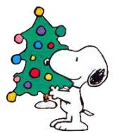 snoopy tree clip brown christmas tree clipart panda free