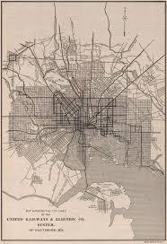 Baltimore City Map Baltimore Railfan Guide Map 10 East Baltimore