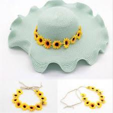 sunflower headband sunflower headband clothing shoes accessories ebay