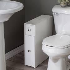 White Towel Cabinet Belham Living Longbourn Narrow Bath Cabinet Hayneedle