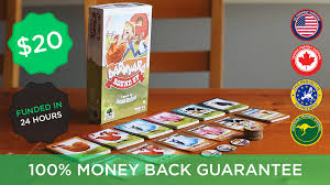 barnyard roundup bluffing set collection card game ages 6 by