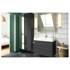 ikea bathroom cabinets godmorgon mirror cabinet with 2 doors 80x14x96 cm ikea